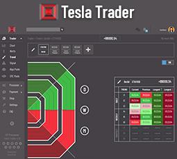 Tesla Trader app banner