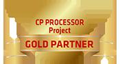 CP Processor Gold Partner!